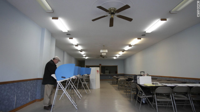 Report shows turnout lower than 2008 and 2004