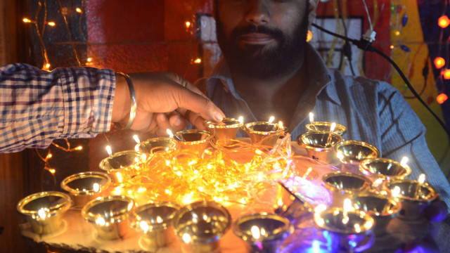 Diwali, also known as the Festival of Lights, begins on November 13 and is celebrated for several days by millions of Hindus across the world as one of the most important events on their spiritual calendar. To commemorate Diwali, <a href='http://ireport.cnn.com/topics/858300' target='_blank'>we want to see your best images</a> of the most beautiful lights.