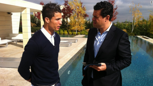 Ronaldo tells CNN's Pedro Pinto in an exclusive interview that he believes his perceived 'arrogance' has made him less popular than his chief rival Lionel Messi. &quot;You know, sometimes I'm a victim of that because they don't know the real Cristiano,&quot; said the Real Madrid forward.