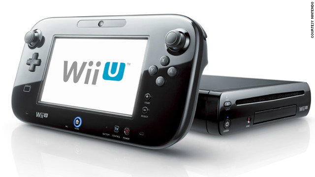 Nintendo's Wii U gaming system features a touchscreen controller that interacts with the game on your TV.