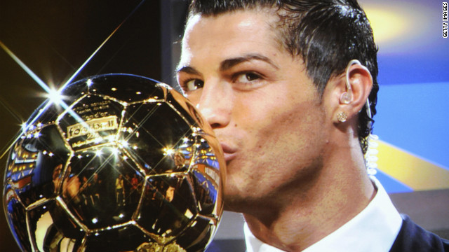 Ronaldo last won the Ballon d'Or in 2008 after helping lead Manchester United to the Champions League crown with victory over Chelsea in Moscow. In the 2007-8 season, he scored 42 goals as United also won the English Premier League title.