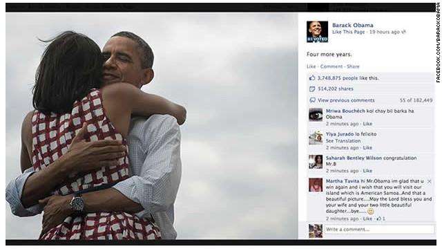 Facebook se está convirtiendo en un foro político