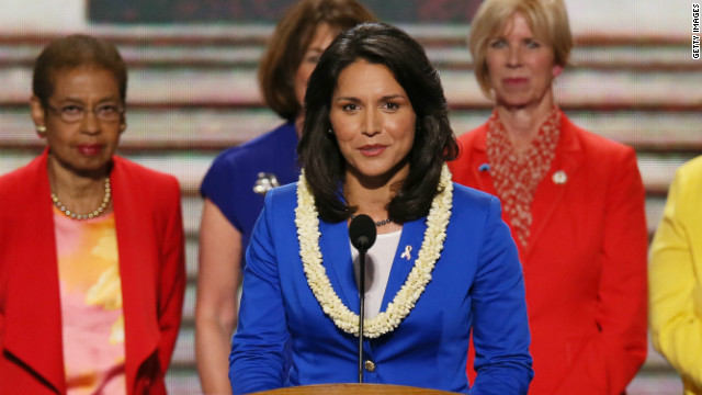 Man charged in threats to Rep. Tulsi Gabbard