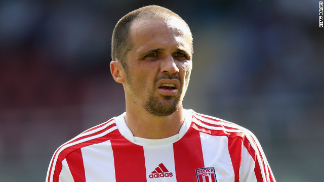 Matthew Etherington is another English Premier League player to have succumbed to gambling addiction. In order to overcome his problems, the Stoke City winger attends Gambling Anonymous meetings twice a week.