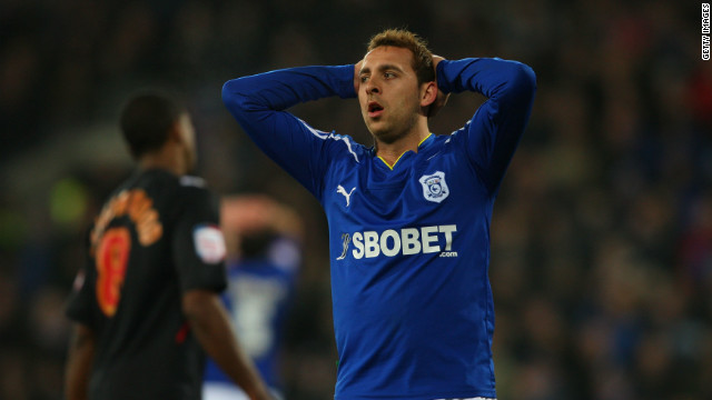 Michael Chopra played in the Premier League for both Newcastle United and Sunderland. Last year the striker revealed he was undergoing treatment for gambling addiction, saying he was betting up to 20,000 per day and he had lost between 1.5m and 2m.