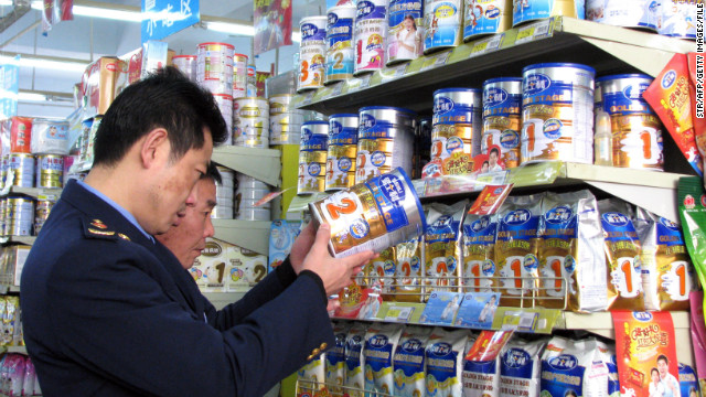 Six babies in China died, while hundreds of thousands more fell ill, after drinking tainted milk powder in 2008.