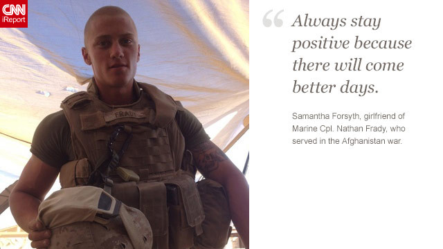 <a href='http://ireport.cnn.com/docs/DOC-871267'>Read Samantha Forsyth's tribute to her boyfriend on iReport.</a>
