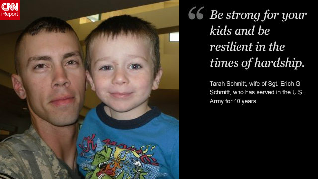 <a href='http://ireport.cnn.com/docs/DOC-878643'>Read Tarah Schmitt's tribute to her husband on iReport.</a>