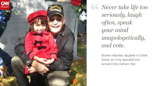 <a href='http://ireport.cnn.com/docs/DOC-878537'>Read Brooke Villarreal's tribute to her father on iReport.</a>