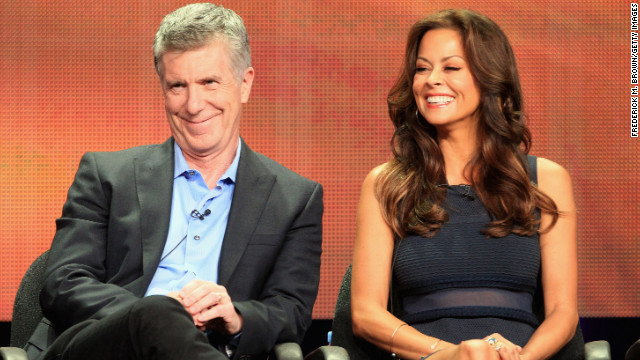 Tom Bergeron: Brooke Burke-Charvet has my &#039;love and support&#039;