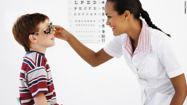 Children's headaches rarely linked to vision problems