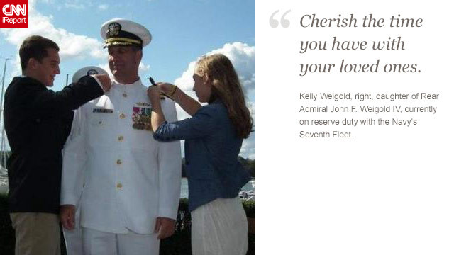 <a href='http://ireport.cnn.com/docs/DOC-872616'>Read Kelly Weigold's tribute to her father on iReport.</a>