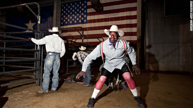 "Ferguson: ""Eighty percent of Americans don't know about the black cowboys. I just want to highlight the black cowboy story."""