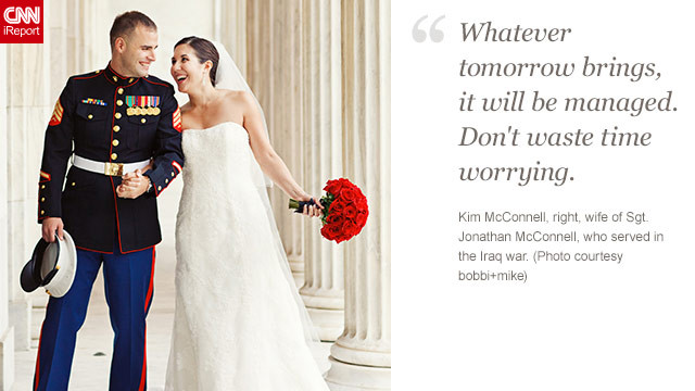 <a href='http://ireport.cnn.com/docs/DOC-873020'>Read Kim McConnell's tribute to her husband on iReport.</a>