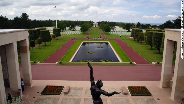 The <a href='http://www.cnn.com/2012/11/10/travel/american-cemeteries-overseas/index.html'>Normandy American Cemetery and 23 other overseas cemeteries</a> operated by the American Battle Monuments Commission will be closed to the public for the duration of the shutdown.