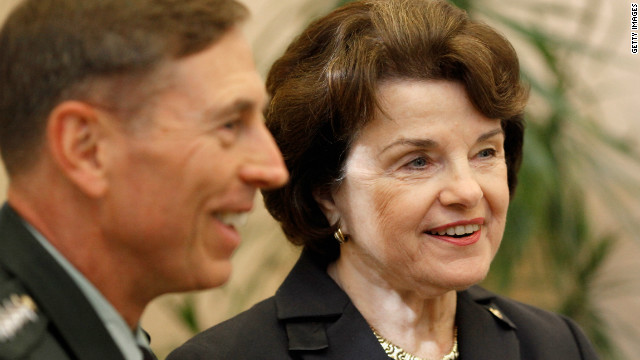 Senate Intelligence Chairwoman calls Petraeus' resignation 'tragic'