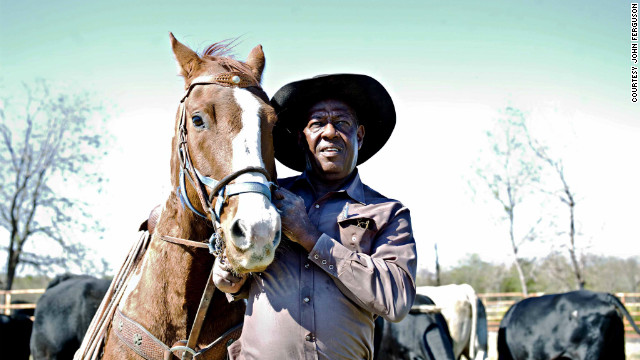 """They look after the cattle, the farms -- it's their work. Some of them are rodeo cowboys -- they are part-time cowboys -- but for others, it's the real job,"" says Ferguson."