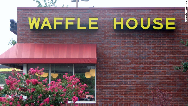 The Georgia-based Waffle House chain has more than 1,500 restaurants open 24 hours a day, year-round.