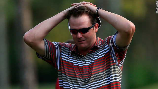 The 28-year-old was taken to hospital following Friday's round, having shot a remarkable eight-under-par 64 to lead the $4.7 million tournament by three shots.