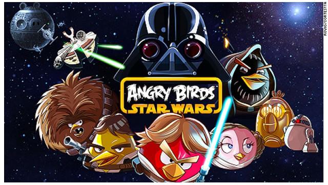 """La """"Guerra de las Galaxias"""" de Angry Birds llega a internet"""