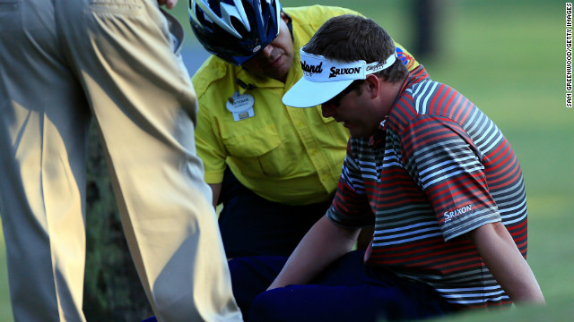 PGA golfer hospitalized after shooting 64