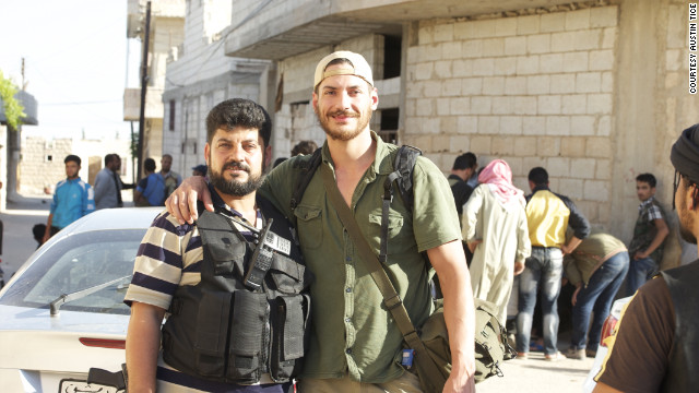 The parents of Austin Tice, the American journalist believed to be held in Syria, <a href='http://www.cnn.com/2012/11/02/world/meast/syria-missing-journalist/' target='_blank'>will travel to Lebanon</a> to make an appeal for their son's release. A video surfaced on YouTube in September that appeared to show a blindfolded Tice being led by men armed with machine guns and a grenade. Many questions still surround the video, and Tice hasn't been heard from on social media since August 11. Above, Tice appears with a Syrian rebel. <br/><br/>Here's a look at some of the other stories CNN plans to cover this week.