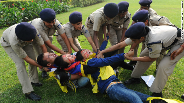 Tibetan activists detained by Indian police
