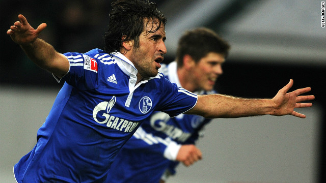 Schalke's on-field fortunes have improved in recent years to the point where they have brought in leading strikers Raul Gonzalez, who left the club earlier this year, and current Dutch striker Klaas-Jan Huntelaar.