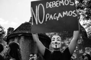 Protesta contra la reforma fiscal