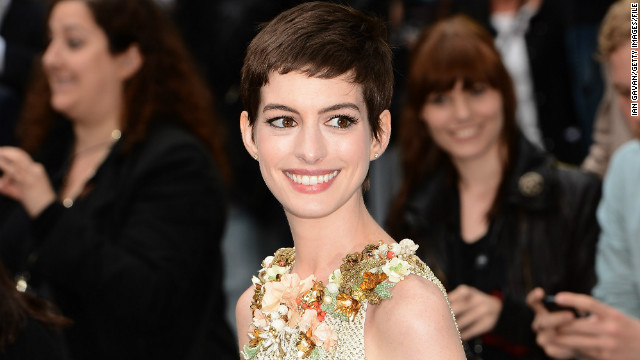 How Anne Hathaway lost 25 pounds for 'Les Mis'