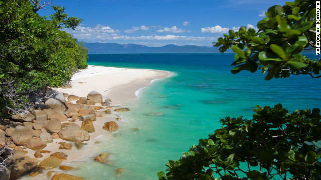 Australian eco-tour operator, Small World Journeys, is staging a Tropical Island Eclipse trip that includes luxury accommodation on the gorgeous Fitzroy Island adjacent to the Great Barrier Reef. Stargazers will watch the eclipse from the island paradise's 900-foot summit and attend an astronomy presentation given by Nobel Prize winner Dr. Brian Schmidt.