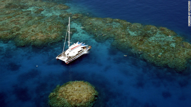 From luxury catamarans to dive boats, several sailing vessels will be departing Port Douglas and Cairns. Operators such as <a href='http://www.passions.com.au/' target='_blank'>Passions of Paradise</a> are giving passengers the chance to jump in the water to snorkel the moment the moon completely blocks the sun so they can see how the marine life of the Great Barrier Reef behave during the natural phenomenon.