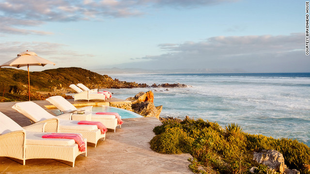 Though the cliff where Birkenhead House is perched isn't particularly high, staying here is like having dress-circle seats to the best show in town: the region's most idyllic swimming beaches, Voëlklip and Kamma Bay.