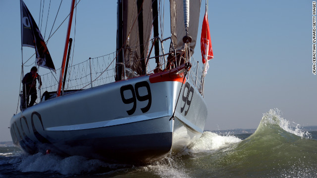 To be in with a chance of winning, the sailors have about 90 days to single-handedly travel 38,700kms across the globe, battling everything from fierce storms in the Southern Ocean to the dreaded doldrums of the equator.