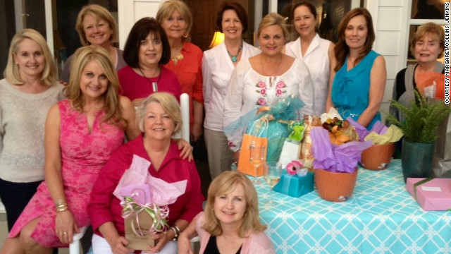 The women of &quot;The Most Exclusive National Shopping Association&quot; have met consistently for the past three years, but some of its members have been close for more than 50. Meet Nita Gilmore, Margaret Collins Jenkins, Margaret Wright, Ouida Muffuletto, Linda Duckworth, Sherry Downs, Gene Claire Belknap, Phyllis Smith, Betty Lynn Hammett, Linda Sellers, Boopie Beard and Susan Mason. 