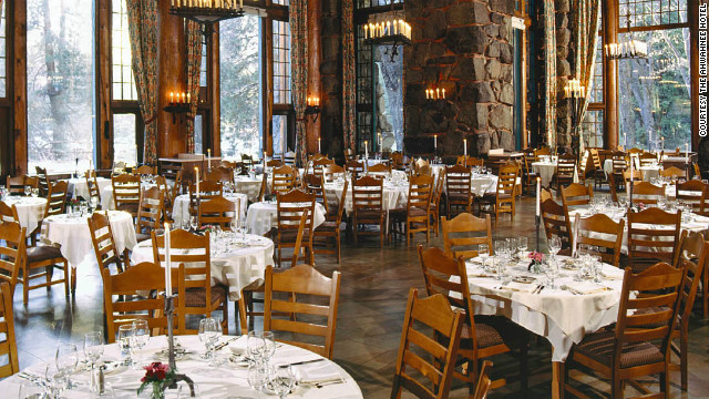 The Ahwahnee Hotel in Yosemite National Park is one of Fodor's top picks for a true local experience.