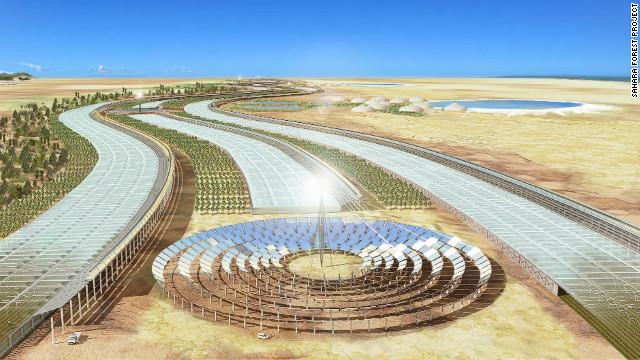 Un proyecto que transformará el desierto de Qatar en un jardín de cultivo