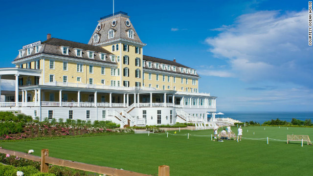 Ocean House in Watch Hill, Rhode Island, is a winner in Fodor's fun for all ages category. These properties offer play for children and adults alike.