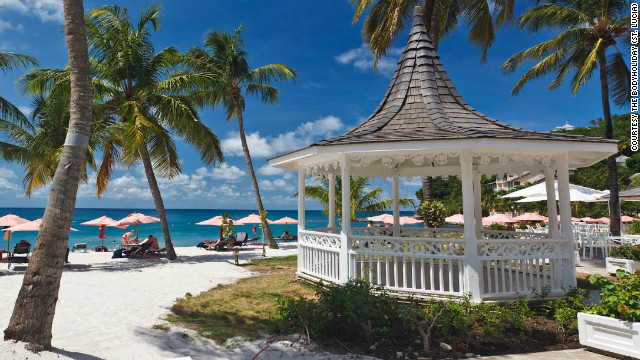 The BodyHoliday in St. Lucia is one of the list's top all-Inclusive resorts.