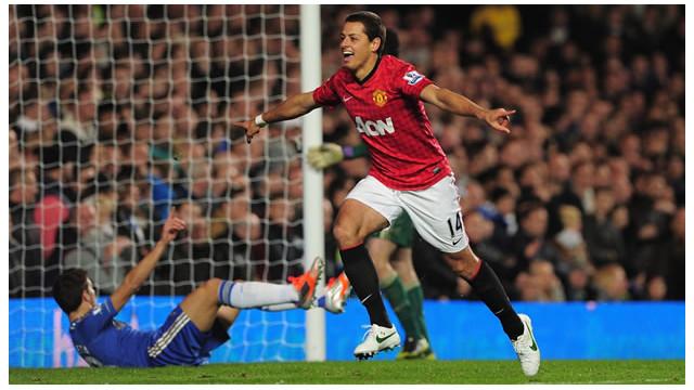 "Javier ""Chicharito"" Hernández, el súper relevo del Manchester United"