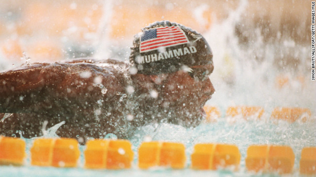 Blazing a trail for young black swimmers