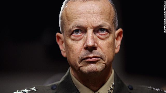 Gen. John Allen cleared of wrongdoing in Petraeus scandal