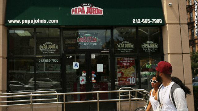 Want some spam with that pizza? Papa John's delivers