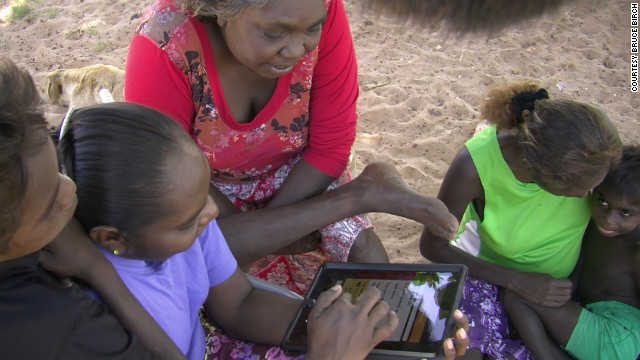 The Ma! Iwaidja free mobile phone app aims to prevent the extinction of the Iwaidja language -- one of Australia's 100 endangered languages.