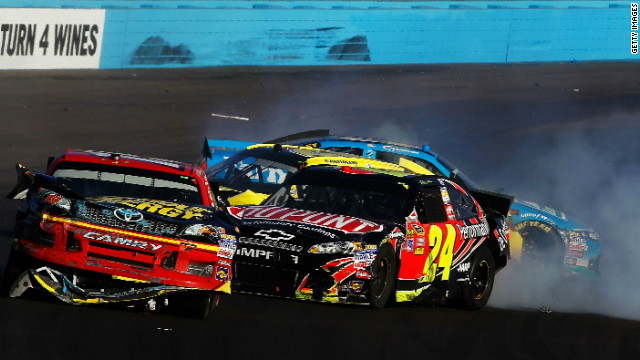 NASCAR&#039;s Jeff Gordon fined $100,000 for part in post-race brawl