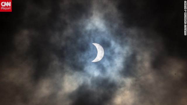 """You see the images on the news and in the papers but I think that by the time something has gone to print the impact is lost to a degree, it's different being 'present' for the eclipse. It's [awe-inspiring],"" said <a href='http://ireport.cnn.com/people/elysis'>Samantha J Hughes</a> from Auckland, New Zealand."