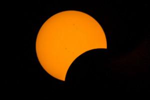 Eclipse total de sol visto por iReporteros