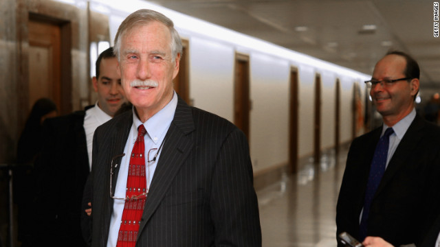 Angus King to caucus with Democrats