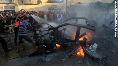Israel, Gaza exchange attacks