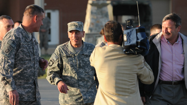 How Petraeus courted the press